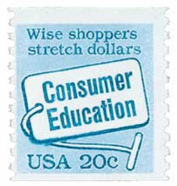 1982 20c Consumer Education