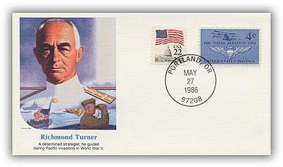 1985 Richmond Turner Commemorative Cover