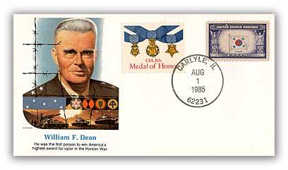 1985 William Dean Commemorative Cover