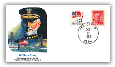 1985 William Sims Commemorative Cover