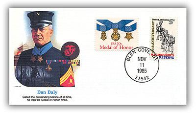 1985 Daniel J Daly Commemorative Cover