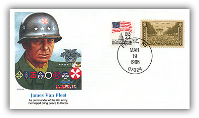 1986 James A Van Fleet Comm Cvr