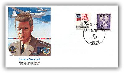 1986 Lauris Norstad Comm Cvr