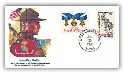 1986 Smedley D Butler Comm Cvr