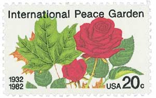 1982 20c International Peace Garden