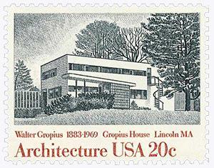 1982 20c American Architecture: Gropius House