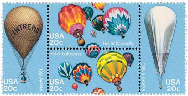 1983 20c Balloons