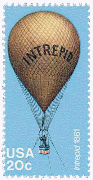 1983 20c Balloons: Intrepid