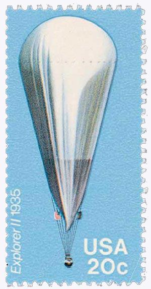 1983 20c Balloons: Explorer II