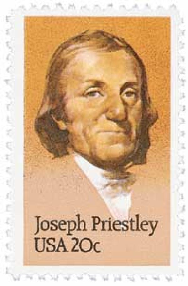 1983 20c Joseph Priestley
