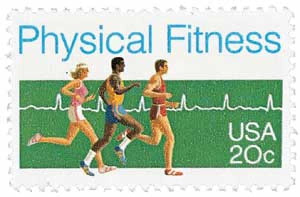 1983 20c Physical Fitness