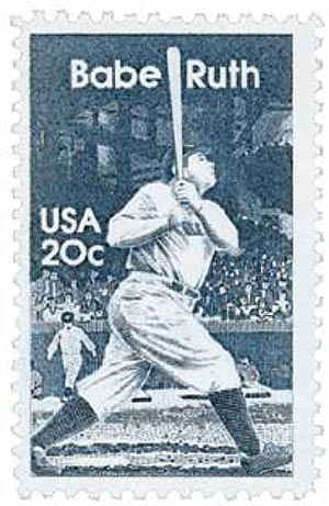 1983 20c George 'Babe Ruth' Herman