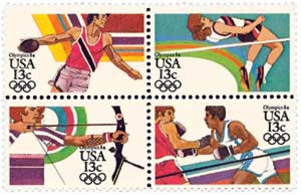 1983 13c Los Angeles Summer Olympics