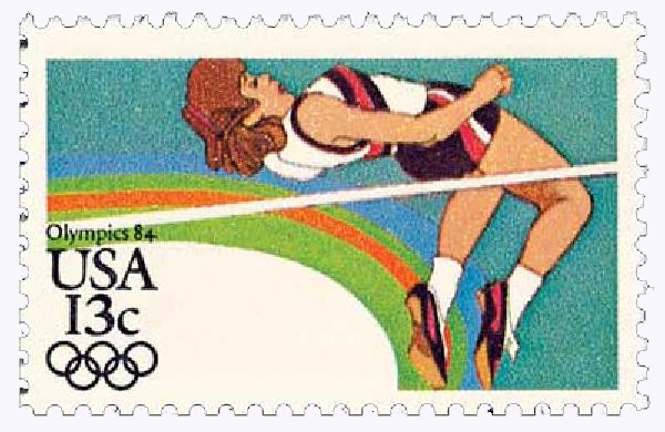 1983 13c Los Angeles Summer Olympics: High Jump