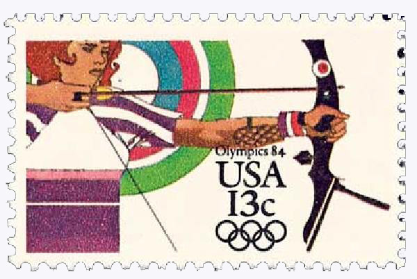 1983 13c Los Angeles Summer Olympics: Archery