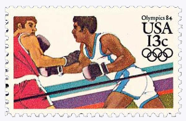 1983 13c Los Angeles Summer Olympics: Boxing