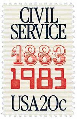 1983 20c Civil Service