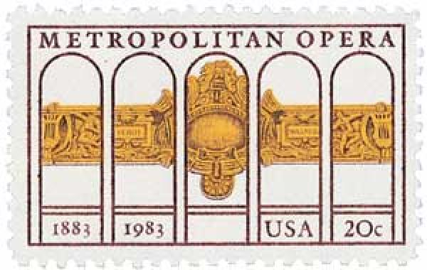 1983 20c Metropolitan Opera