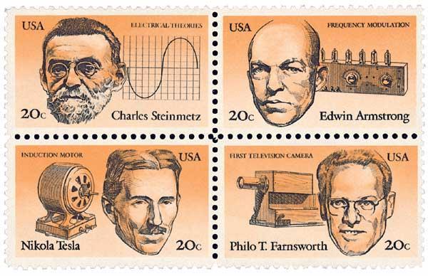 1983 20c American Inventors