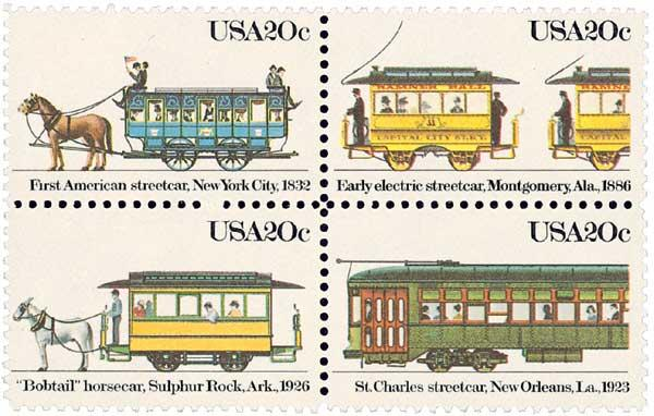 1983 20c Street Cars