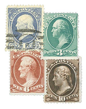 Complete Set, 1881-82 American Bank Note Printing