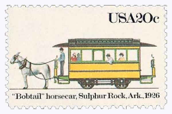 1983 20c 'Bobtail' Horsecar