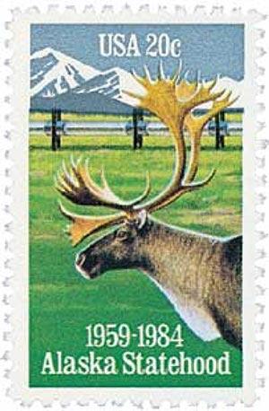 1984 20c Alaska Statehood