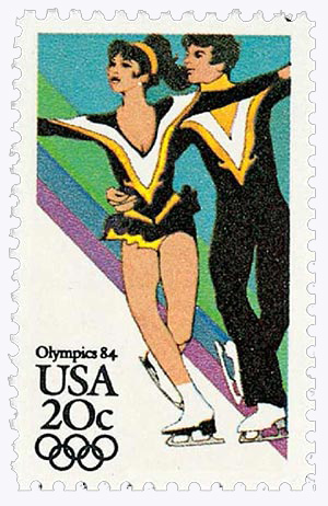 1984 20c 14th Winter Olympic Games: Ice Dancing