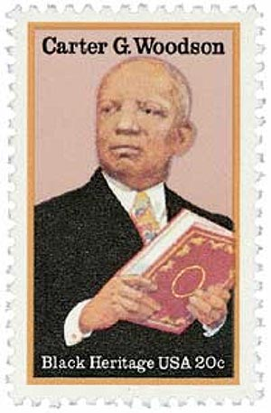 1984 20c Black Heritage: Carter G. Woodson