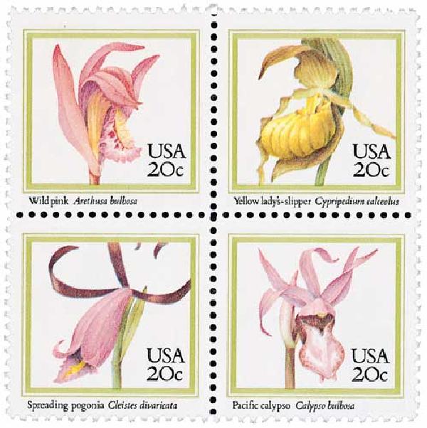 1984 20c Orchids