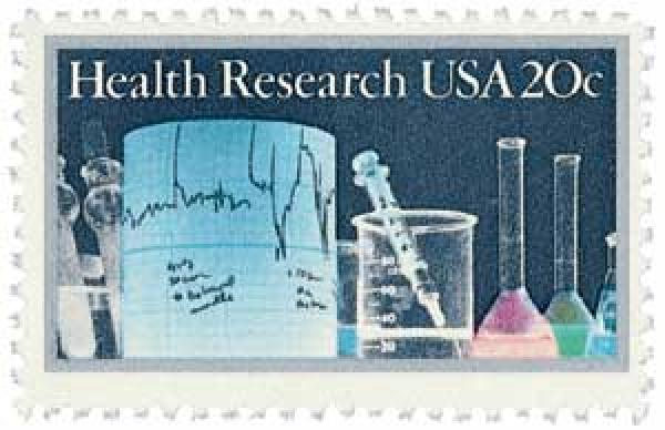 1984 Health Research stamp