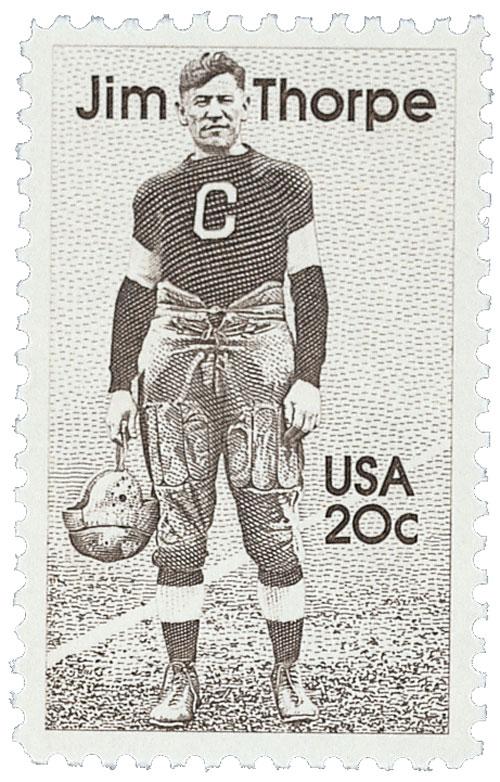1984 20c Jim Thorpe