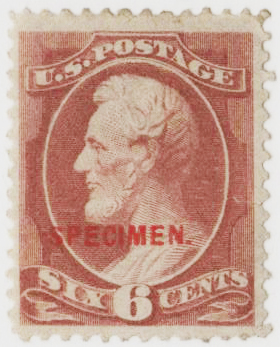 1881-82 6c brown red