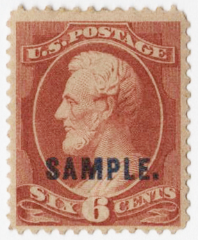 1889 6c brown red