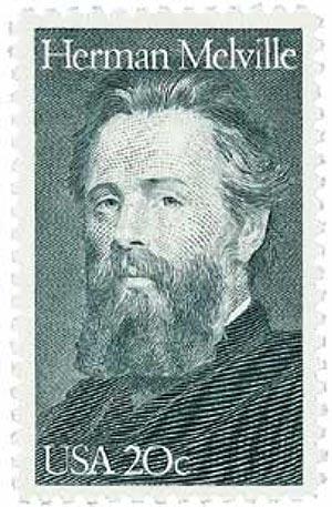 1984 20c Literary Arts: Herman Melville