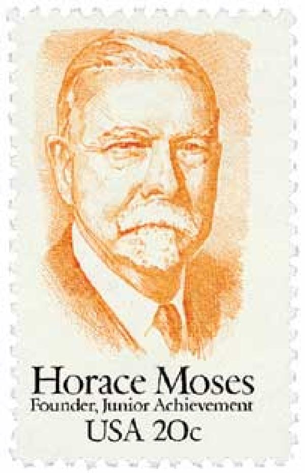 1984 20c Horace Moses