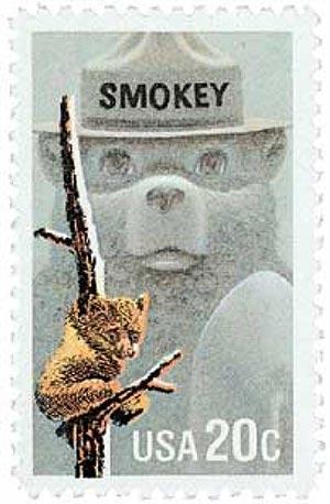 1984 20c Smokey Bear
