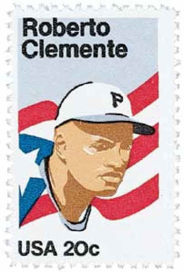 1984 20c Roberto Clemente