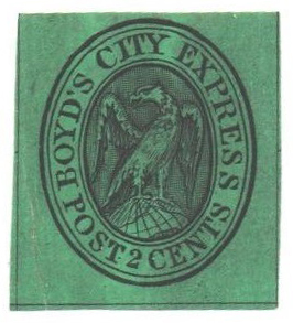 1848 2c black green