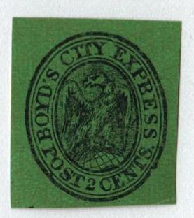 1852 2c black green