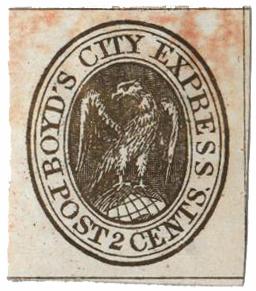1852 2c gold