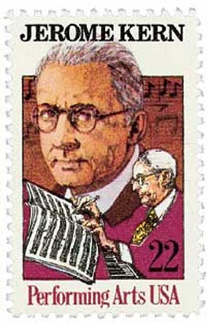 1985 22c Performing Arts: Jerome Kern