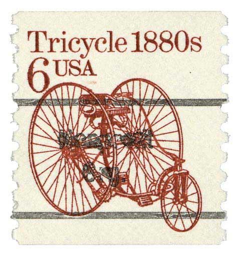 1986 6c Tricycle, precanel, coil