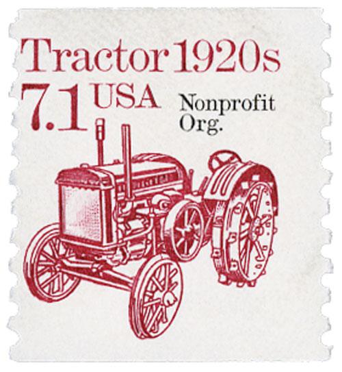 1987 7.1c Tractor, precancel