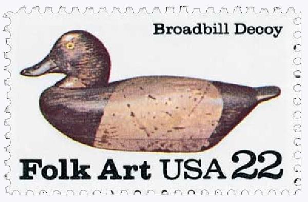 1985 22c Broadbill