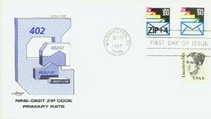 1985 21.1c Sealed Envelopes,precanceled