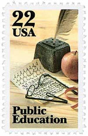 1985 Public Education stamp