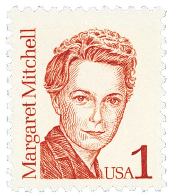 1986 1c Great Americans: Margaret Mitchell