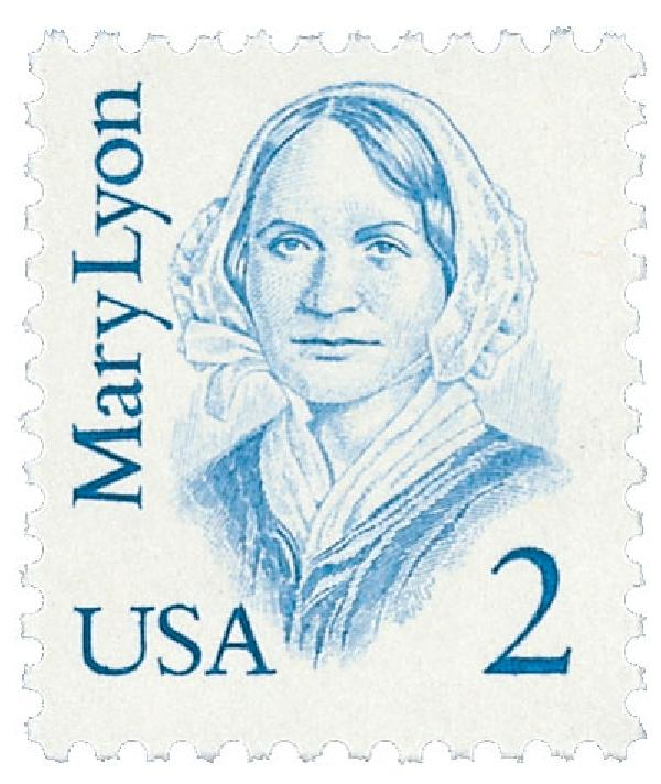 1987 2c Great Americans: Mary Lyon