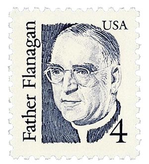 1986 4c Great Americans: Father Flanagan